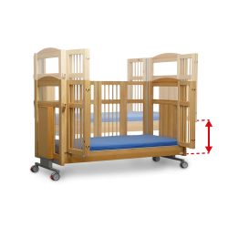 Height-Adjustable Lying Surface