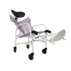 Backrest recline and elevated legrest