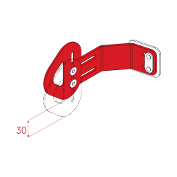 Height Adjustable Inbuilt Lateral Supports