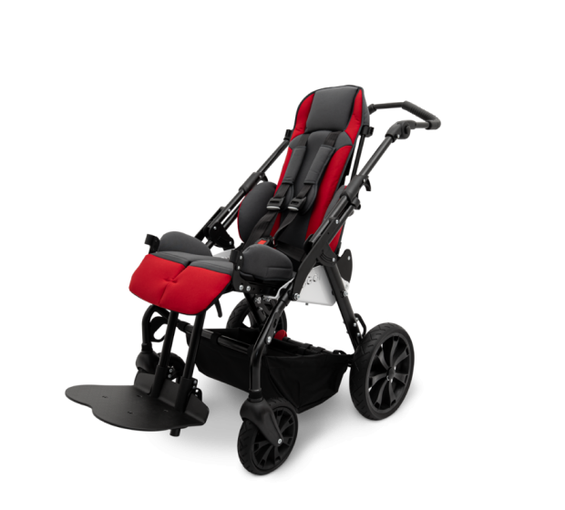 Duro Stroller with backrest and seat extended