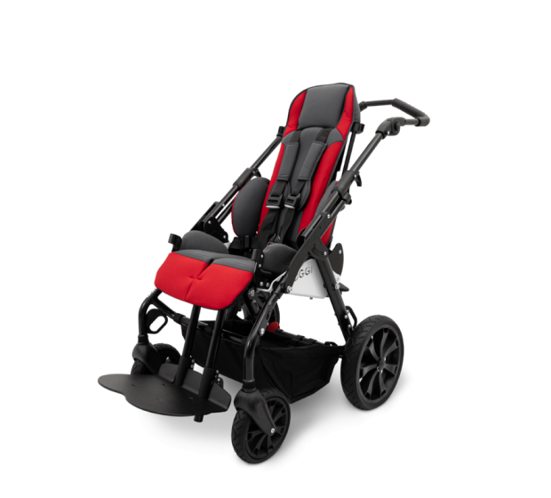 Duro Stroller with backrest extended