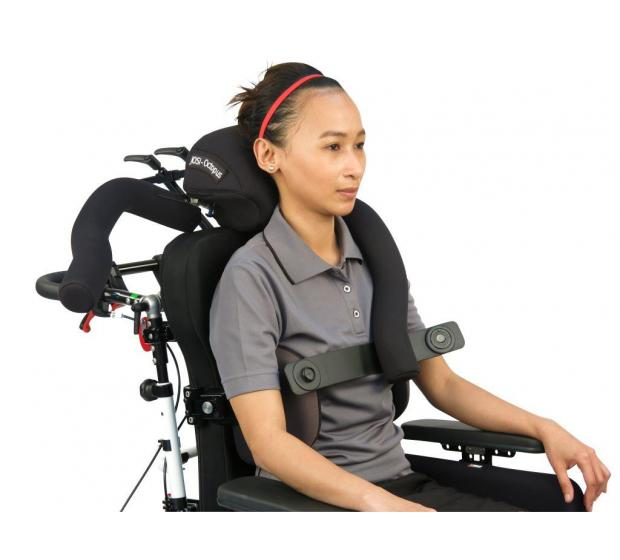 Octopus Head Positioning System Wheelchair Seating Medifab