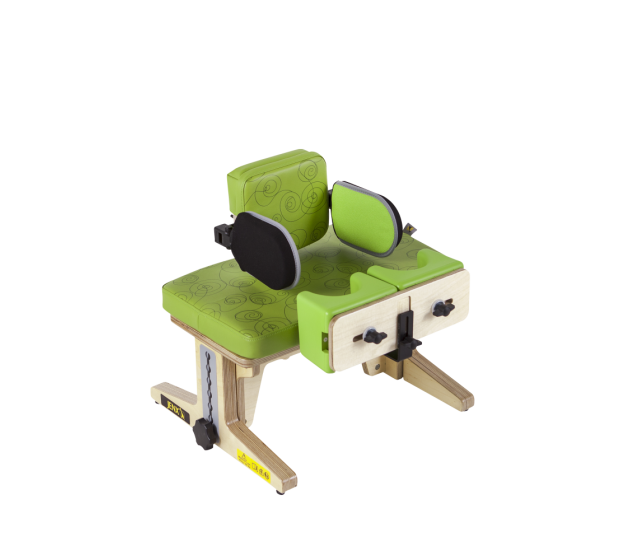 Therapy Bench with Pelvic Support and Knee Blocks