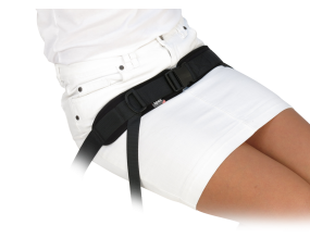 Spex 4 Point Centre Pull Padded Hip Belt - Side Release Buckle
