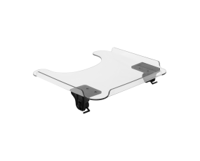 Tray with Top Drop & Lock hardware