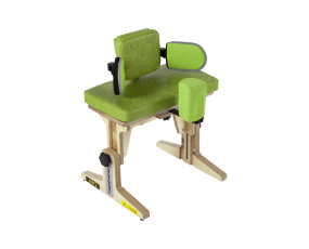 Therapy Bench with Pelvic Support and Abduction Block